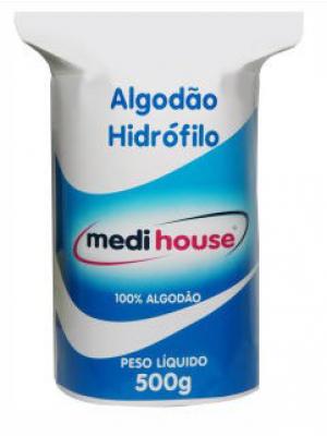 ALGODÃO HIDRÓFILO 500 GRAMAS - ROLO