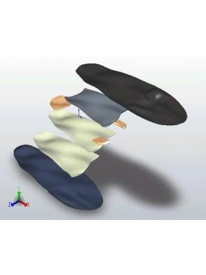 Palmilha Ortopédica Adulto - par